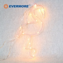 Evermore Home Decor Lighted Flamingo