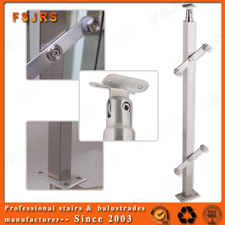 Fsjrs rvs leuning ontwerp voor trappen trappen product id 60437698830 - Ontwerp leuning ...