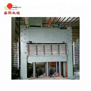 multi layer particle board / plywood laminate hot press machine from linyi