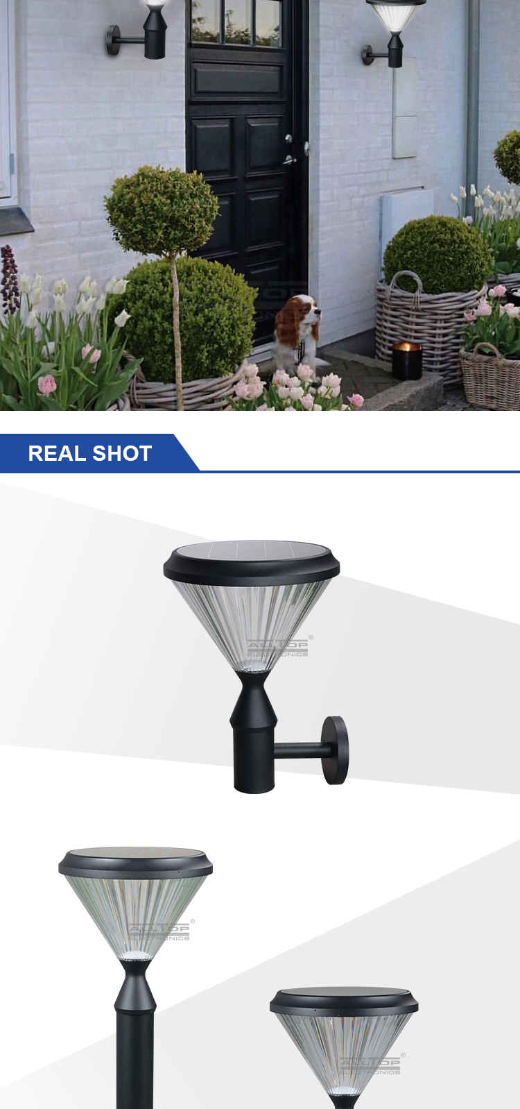 ALLTOP solar panel yard lights-11