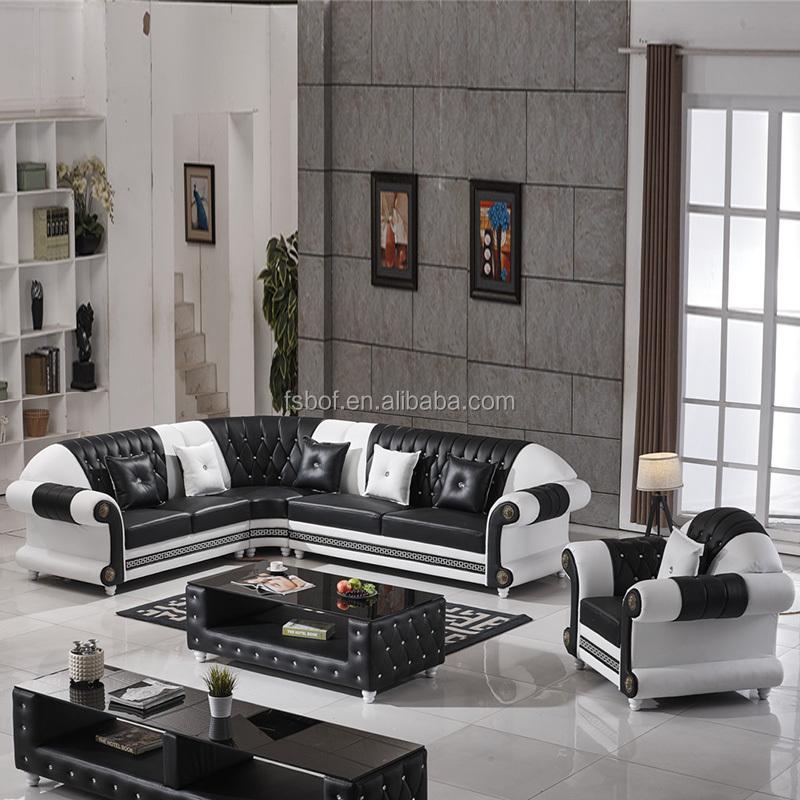 Living Room Furniture European Style european living room leather sofa, european living room leather