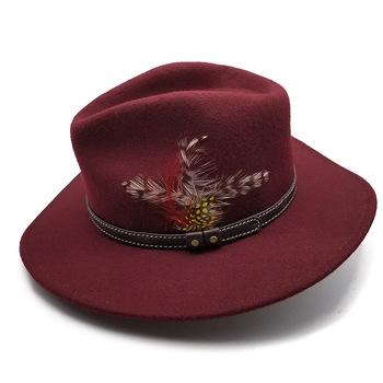 Fashion Women Cheap Short Brim Wool Felt Fedora Hats - Buy ... e3dfc117e41