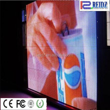 For truck commercial advertising flexible video curtain big ads display screen
