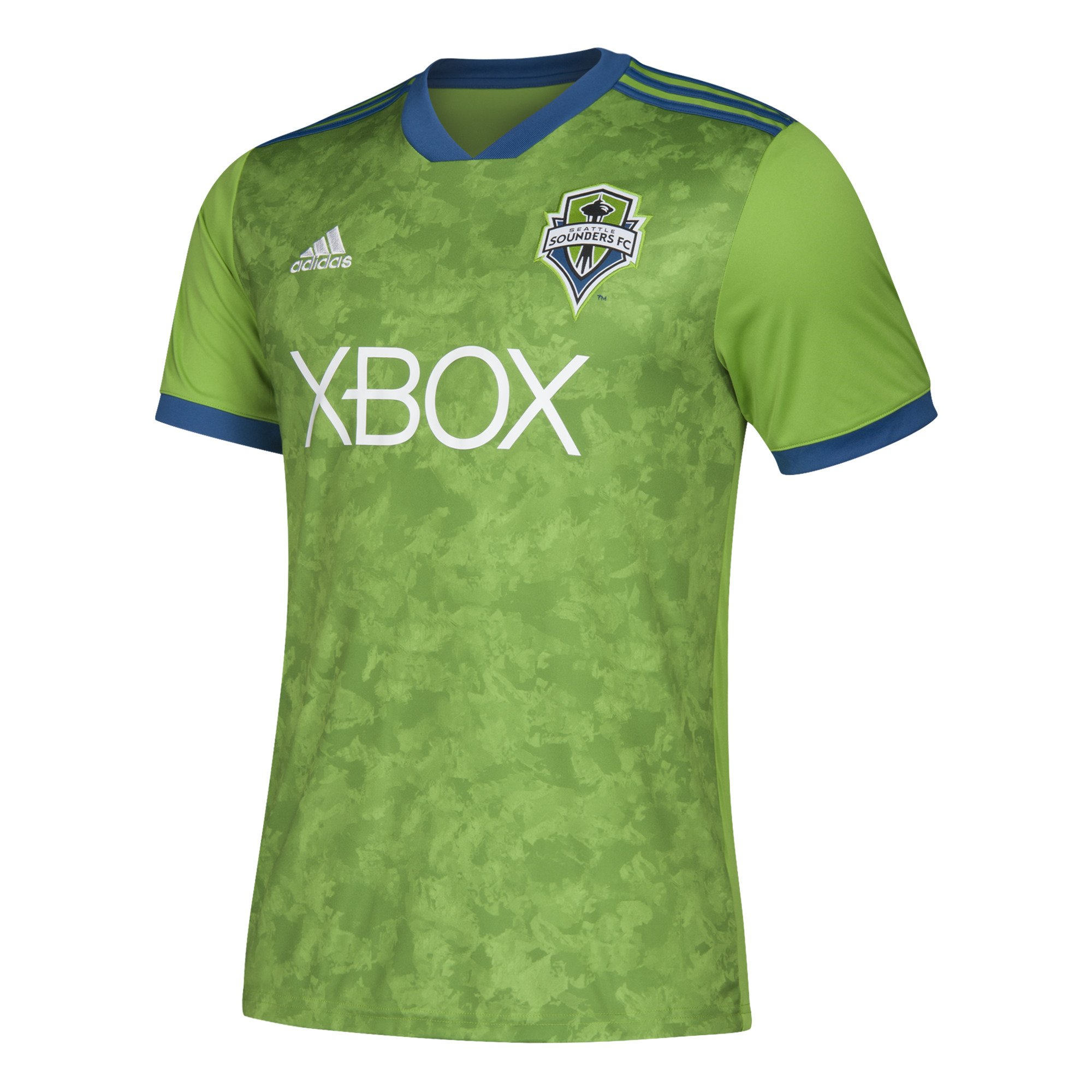 c73ec171 Get Quotations · adidas Seattle Sounders FC Jersey Replica Home Soccer  Jersey