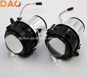 DAO Car Fog Light Fog Lamp Xenon HID Projector Lens For MAZDA