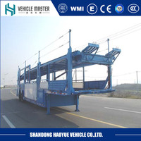 Manufacturer 2 axles 5 car carrier trailer for sale