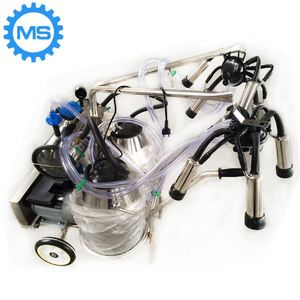 high quality vacuum pump mobile milking machine malaysia