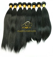 Wholesale Unprocessed 8A cheap Brazilian Silky Straight Remy Human Hair Weft Aliexpress Virgin Straight Hair