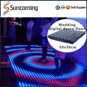 DMX LED Irish Dance Floor Mat Lamp for Disco Parties Car Display Shopping Mall