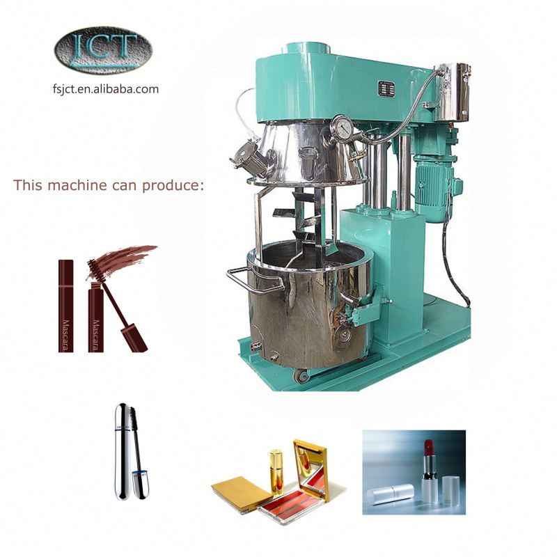 JCT bamboo cosmetic container making planetary mixer