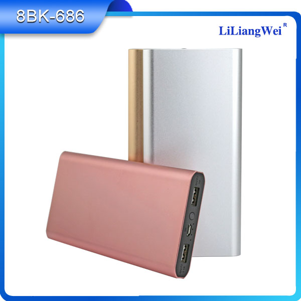 Factory rohs emergency storage Batteries QC 3.0 power bank charger 10000mah