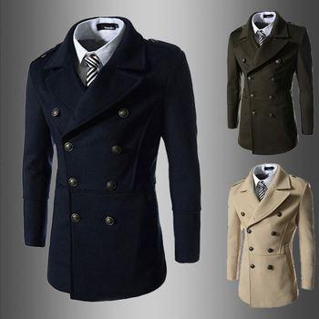 Onenweb W Whole Men S Dust Coat Mens Overcoat Winter Men S Trench