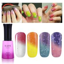 iLuve Temperature Color Changing Nail Polish Soak-off gel  uv led nail polish couleur luminous iridescent gels for nails 12ml