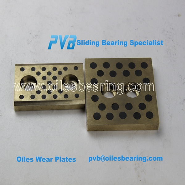 Double Side Plate Bronze Graphite Wear Plate, wear-resistance Graphite Bronze Slide Plate,Oilless Wear embed Graphite plate
