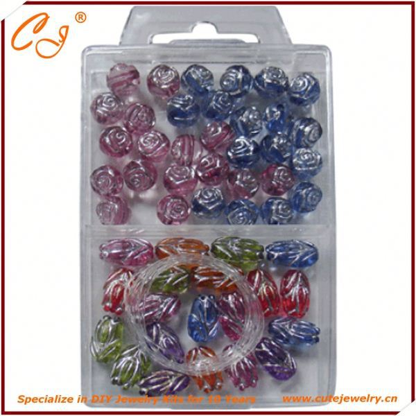 Miaodian new style crystal jewelry beads, jewelry making materials