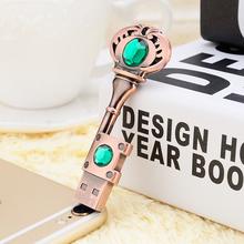 HOT USB Pen Drive Metal Pure Copper Heart Key Gift USB Flash Drive 512GB mini USB