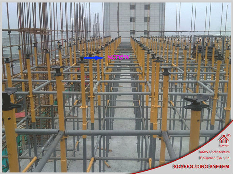 Self Leveling Scaffolding : Adjustable scaffold accessories jack base and u head made