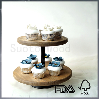 Personalized Wooden Cupcake Stand Small Wooden Dessert Table Cake Display Stand Buy Chinese Small Wood Display Standswooden Cupcake Standwooden