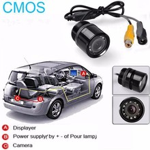 HD CMOS Anti Fog night vision backup camera for lexus