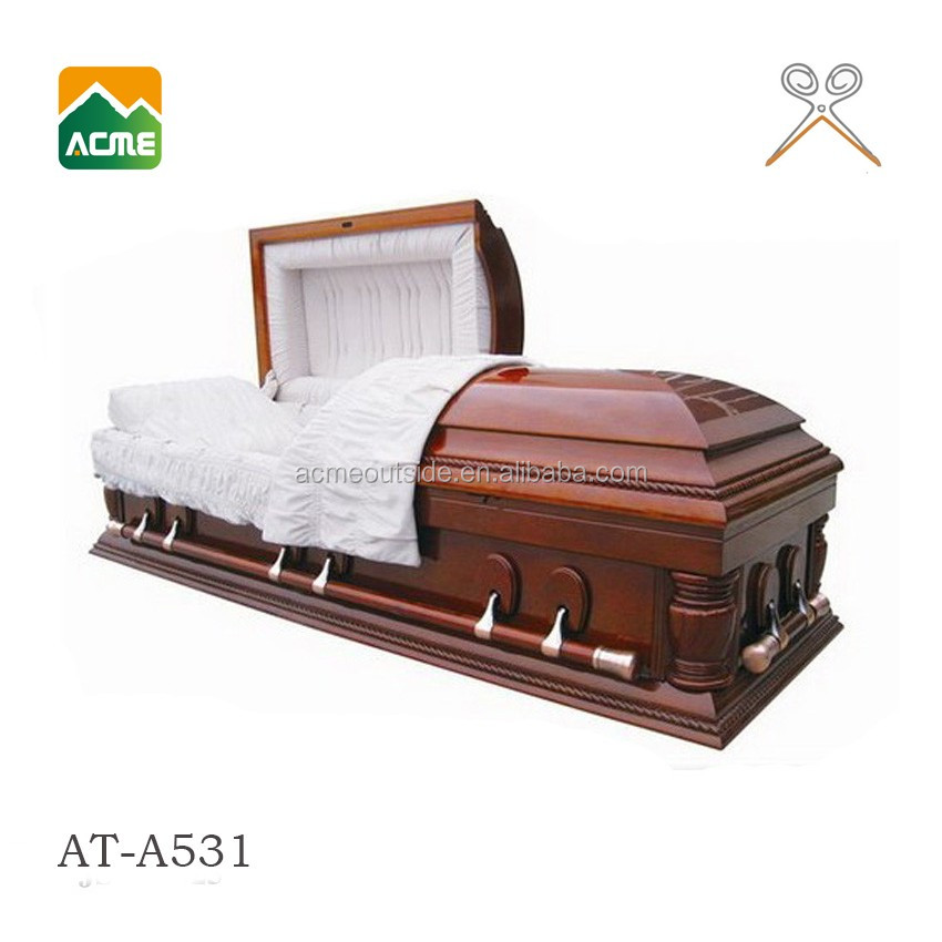 AT-E531 good quality cardboard coffins for sale