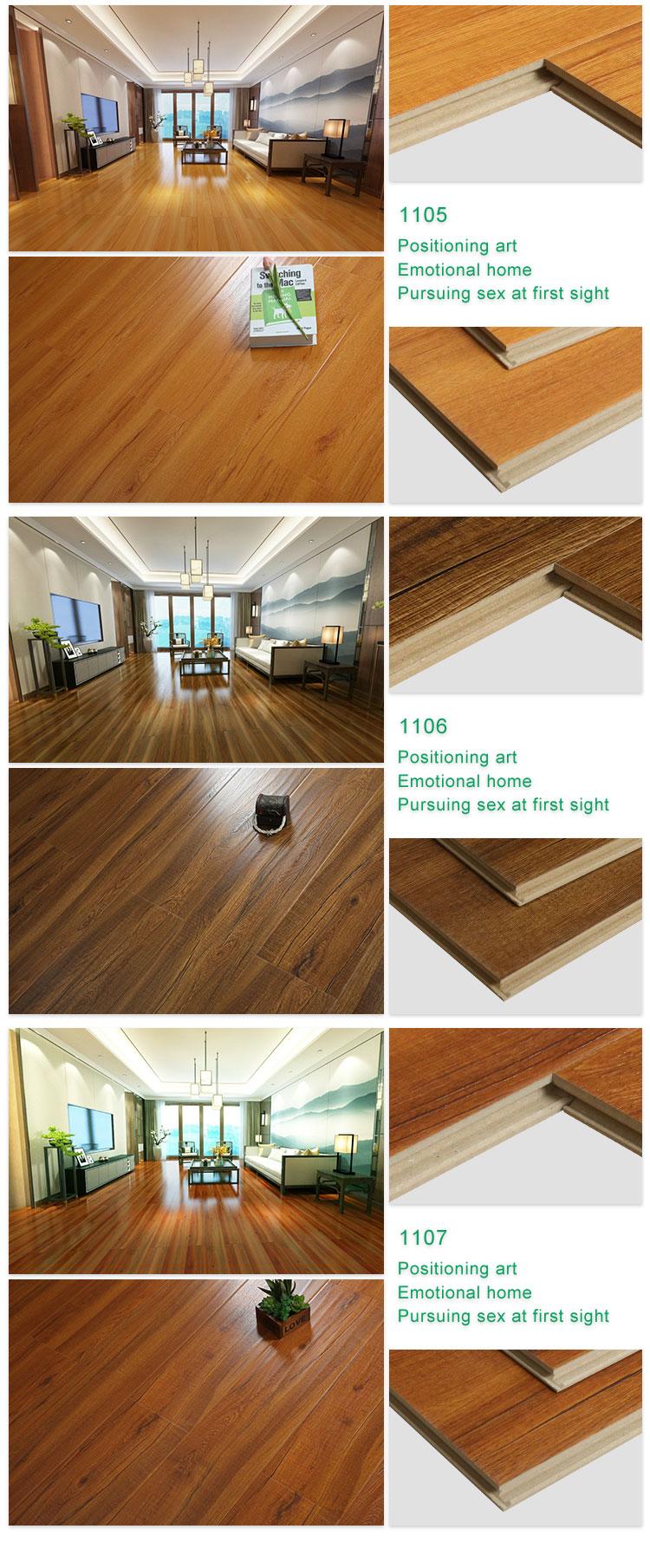 Low Price Oak Surface HDF Engineered Wood Flooring