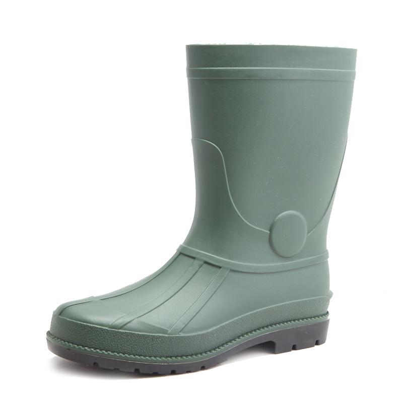 Anti Slip Waterproof Olive Black Safety