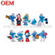 Custom Small Smurf Action Figure Toy for Promotion
