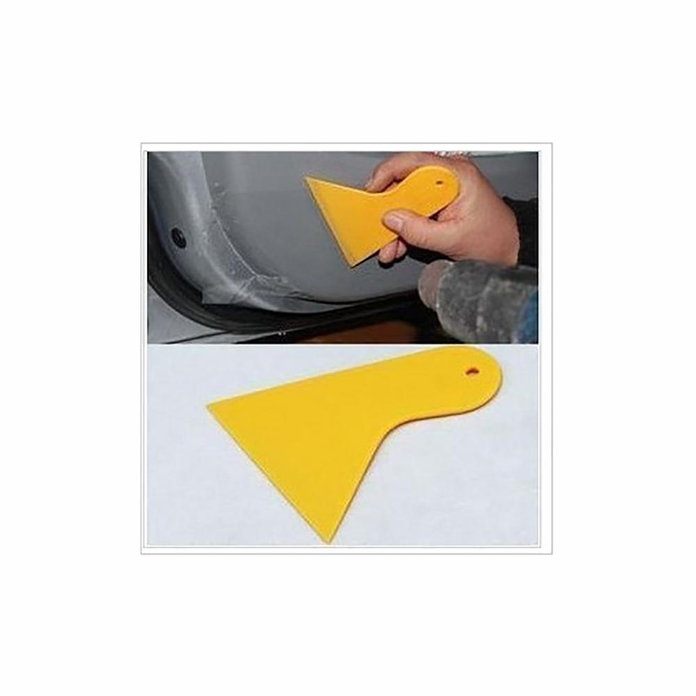 10 шт. бесплатная доставка мини-авто украшения придерживайтесь защитная пленка снег лед лопата скребок для удаления чистый инструмент