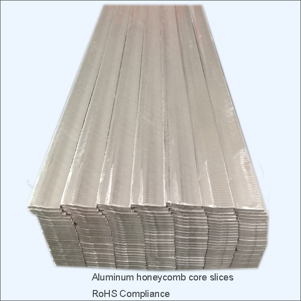 aluminum honeycomb core slices for aluminum honeycomb sandwich panel, building material used