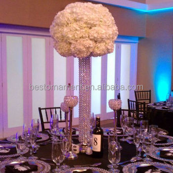 Wedding Table Crystal Towers Centerpiece - Buy Crystal Centerpieces ...
