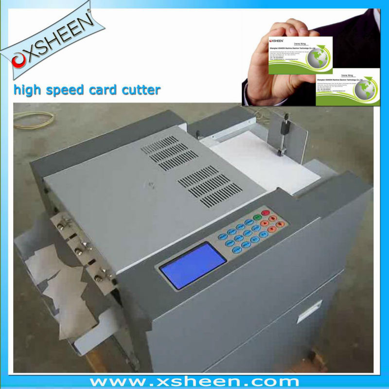 Automatic Business Card Cutter Whole Suppliers Alibaba
