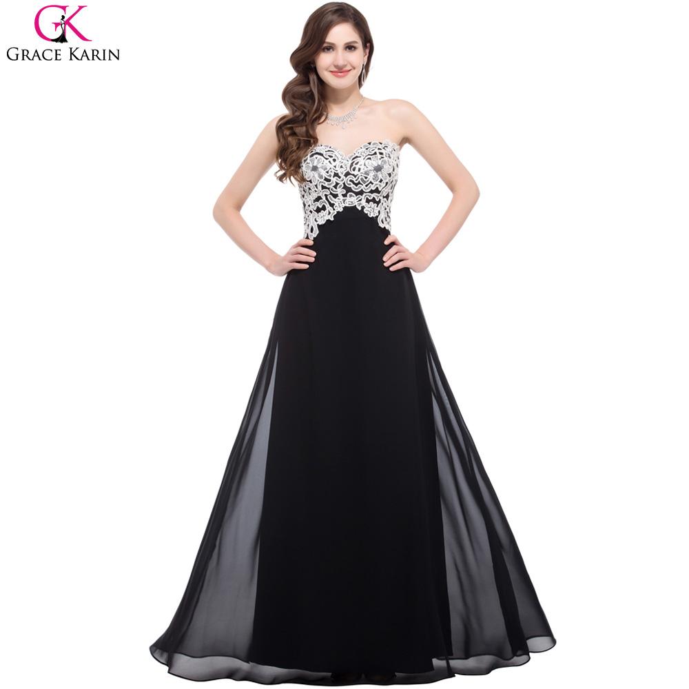 elegant black prom dresses - photo #2