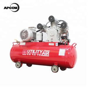 APCOM LW10008 30 CFM 10 hp 7 5 kw piston air compressor 35CFM 10hp 7 5kw  piston air compressor