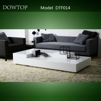 Acrylic solid surface sofa modern center table design for Center table design for sofa
