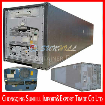 Guangzhou New 20 Rf Refrigerated Container Thermo King