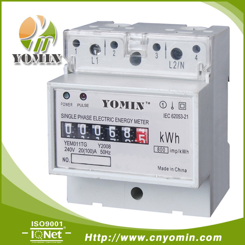 Nz Single Phase Smart Meter : Single phase electronic din rail active energy meter
