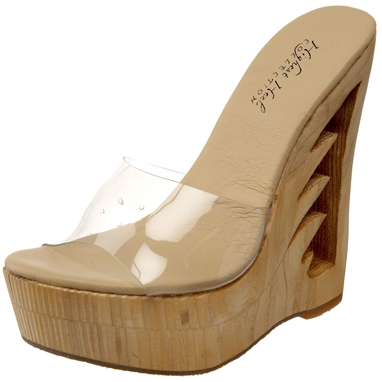 7e3b3459161 Get Quotations · The Highest Heel Women s Flame-11 Sandal