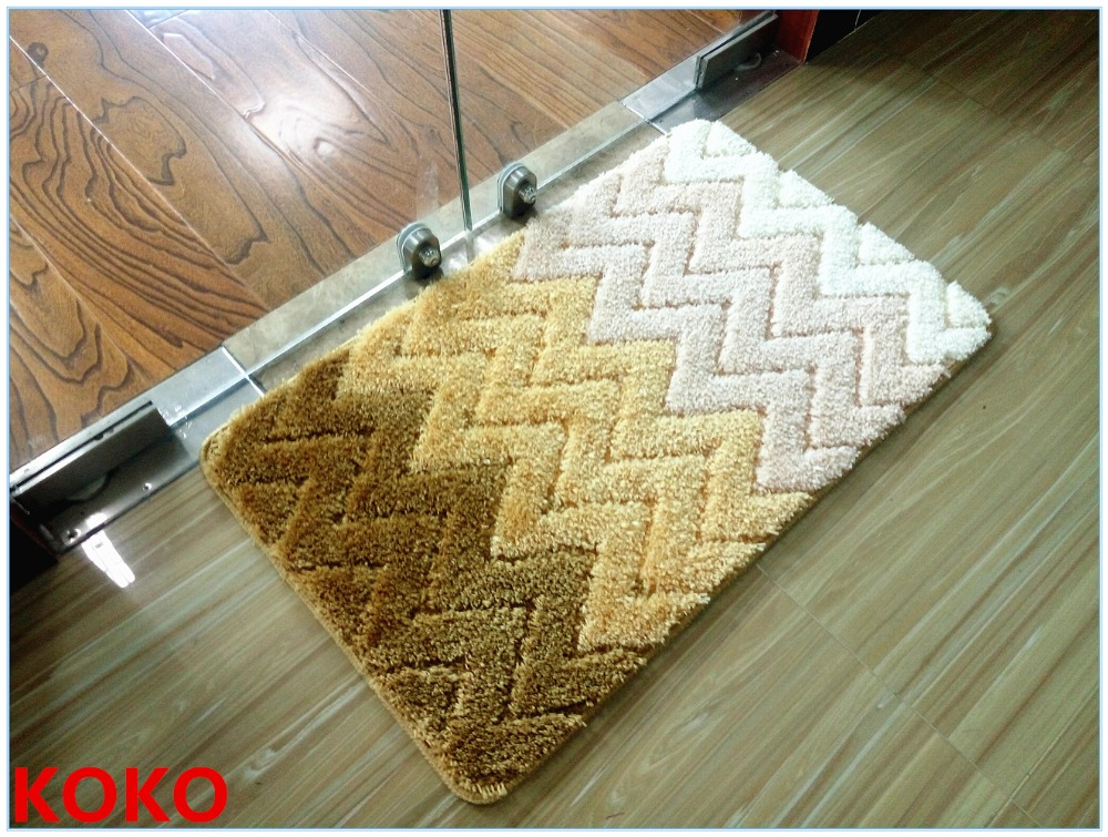 KOKO 100% polyester Material and customized Style Anti-Slip Mat