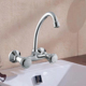 China product cheap single lever handle zinc kitchen sink faucets