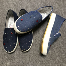 2017 new flat top casual shoes Women's Shoes Low shoes be made in china and is high quality and low price