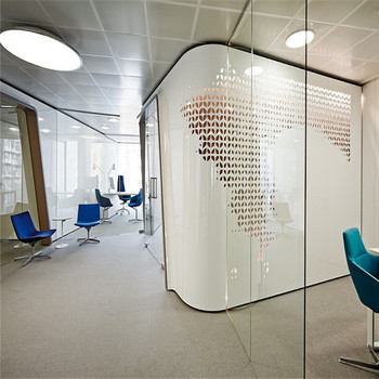 Modern Office Sound Proof Glass Demountable Office Walls Interior Partition