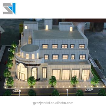 Fabrication De Modèles Architecturaux Maison Architecturale Modèle Ho Modèle Bâtiments Buy Bâtiments à Maquette Ho Modèle De Maison
