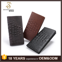 Fashion Large Mens Wallets for Men Leather Wallet Credit Card