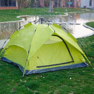 Easy folding outdoor umbrella frame fast camping tent for 3-4 persons