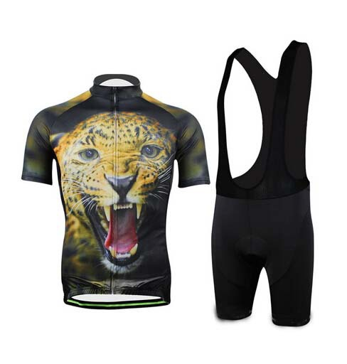 Get Quotations · Ciclismo cycling comfortable sales cycling Jersey +bib shorts  Wear Fierce tiger Jersey 29d2d192b