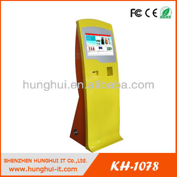 Multi-functional Query Kiosk / Photo Booth with Kiosk / Ticketing Vending Kiosk