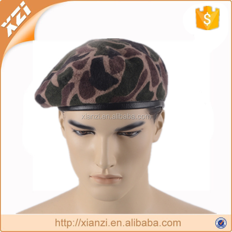 Crazy warriors fighting military beret hat
