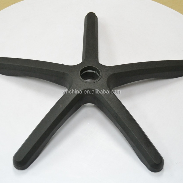 Plastic chair base swivel base for chair pedicure chair base