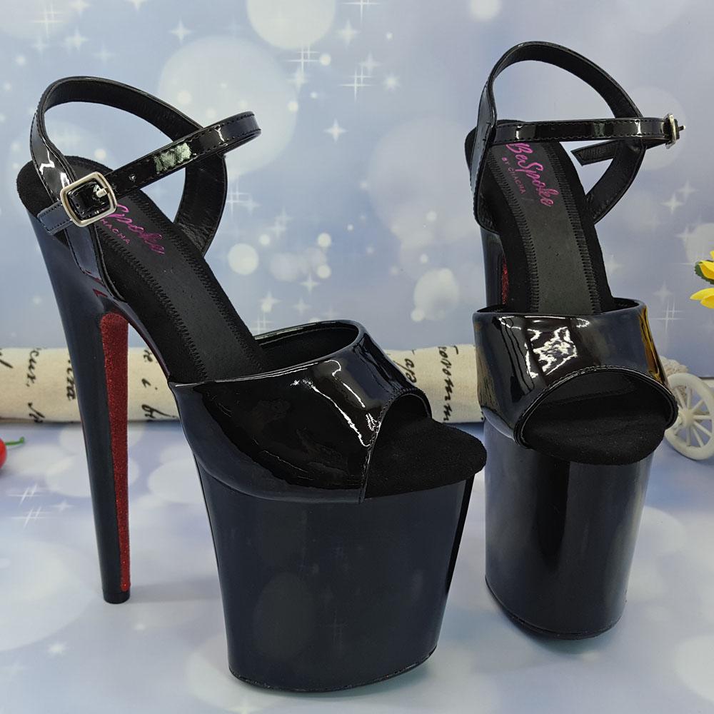 8 Pouce Fleur Ultra Shipping Chaussures Buy Talons Plate Rose Haute Romantique Drop Cristal Mariage 20 forme Plein Pantoufles Cm Transparent Mariée pSLzMqGjUV