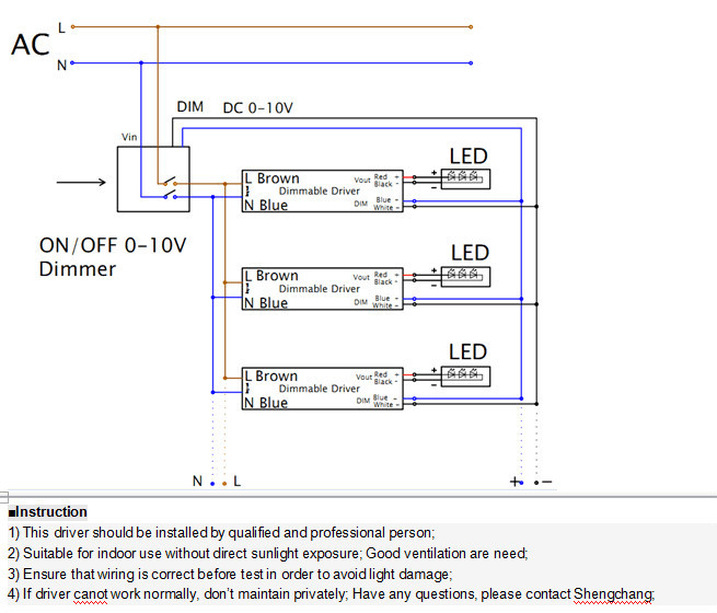Dimmable Led Driver Wiring Diagram - 12.20.asyaunited.de •